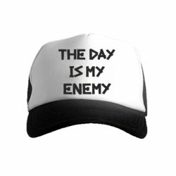 Детская кепка-тракер The day is my enemy
