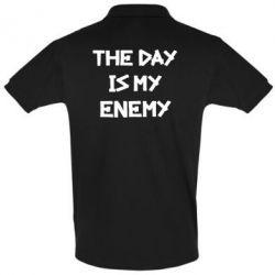 Мужская футболка поло The day is my enemy