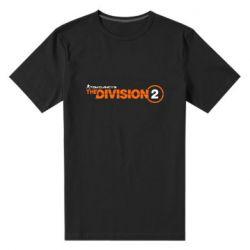 Чоловіча стрейчева футболка The division 2 logo