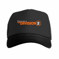 Кепка-тракер The division 2 logo