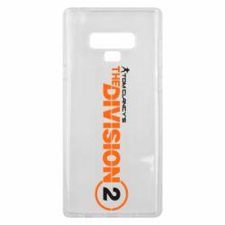 Чохол для Samsung Note 9 The division 2 logo