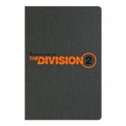 Блокнот А5 The division 2 logo