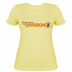 Жіноча футболка The division 2 logo