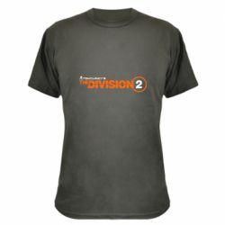 Камуфляжна футболка The division 2 logo