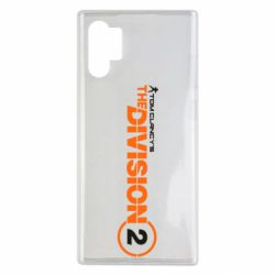 Чохол для Samsung Note 10 Plus The division 2 logo