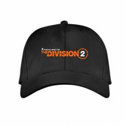 Дитяча кепка The division 2 logo