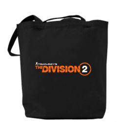 Сумка The division 2 logo