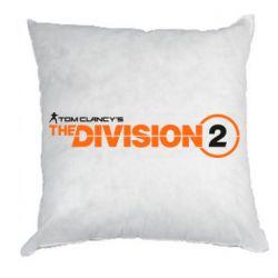 Подушка The division 2 logo