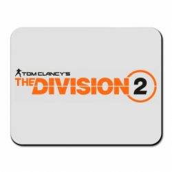 Килимок для миші The division 2 logo