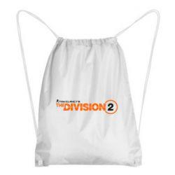 Рюкзак-мішок The division 2 logo