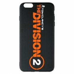 Чохол для iPhone 6 Plus/6S Plus The division 2 logo