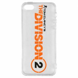Чохол для iphone 5/5S/SE The division 2 logo
