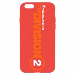 Чохол для iPhone 6/6S The division 2 logo