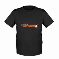 Дитяча футболка The division 2 logo