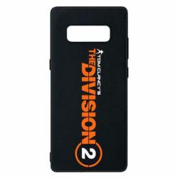 Чохол для Samsung Note 8 The division 2 logo