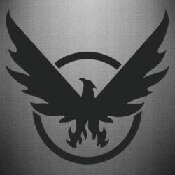 Наклейка The Division logo
