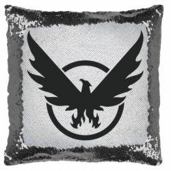 Подушка-хамелеон The Division logo