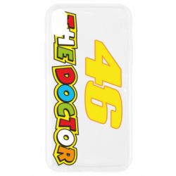 Чехол для iPhone XR The Doctor Rossi 46