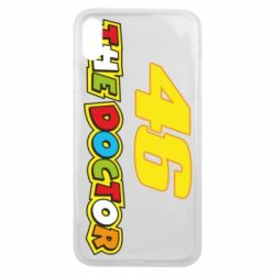 Чехол для iPhone Xs Max The Doctor Rossi 46