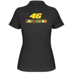 Женская футболка поло The Doctor Rossi 46 - FatLine