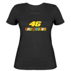 Женская футболка The Doctor Rossi 46 - FatLine