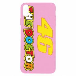 Чехол для iPhone X/Xs The Doctor Rossi 46