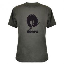 Камуфляжная футболка The Doors - FatLine