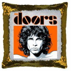 Подушка-хамелеон The Doors
