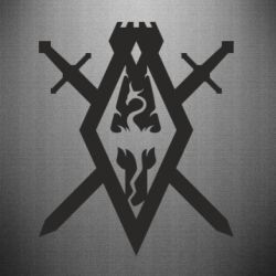 Наклейка The Elder Scrolls