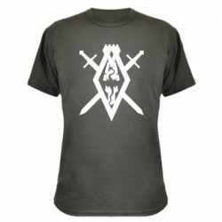 Камуфляжная футболка The Elder Scrolls