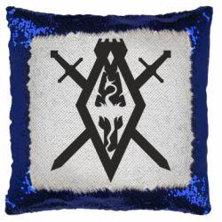 Подушка-хамелеон The Elder Scrolls