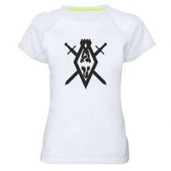 Женская спортивная футболка The Elder Scrolls