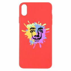 Чохол для iPhone Xs Max The face of Salvador Dali on the edge