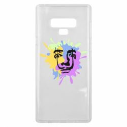 Чохол для Samsung Note 9 The face of Salvador Dali on the edge