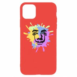 Чохол для iPhone 11 Pro Max The face of Salvador Dali on the edge