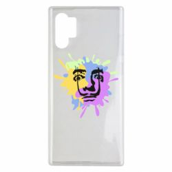 Чохол для Samsung Note 10 Plus The face of Salvador Dali on the edge