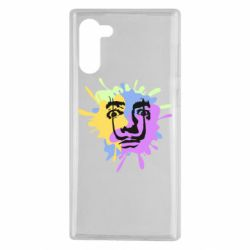 Чохол для Samsung Note 10 The face of Salvador Dali on the edge