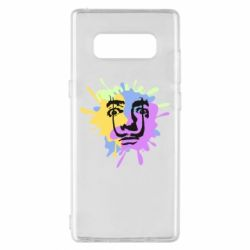 Чохол для Samsung Note 8 The face of Salvador Dali on the edge