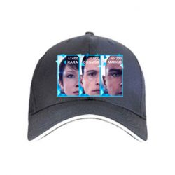 Кепка The faces of androids game Detroit: Become human
