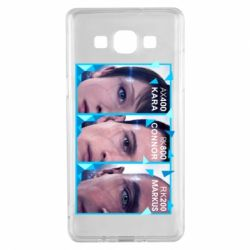 Чохол для Samsung A5 2015 The faces of androids game Detroit: Become human