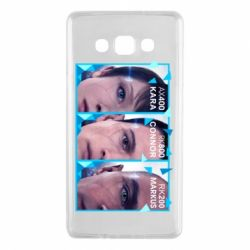 Чохол для Samsung A7 2015 The faces of androids game Detroit: Become human