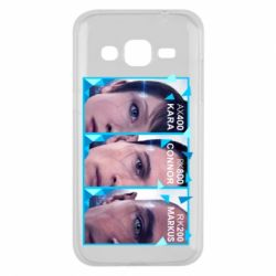 Чохол для Samsung J2 2015 The faces of androids game Detroit: Become human