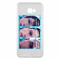 Чохол для Samsung J4 Plus 2018 The faces of androids game Detroit: Become human