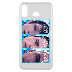 Чохол для Samsung A6s The faces of androids game Detroit: Become human