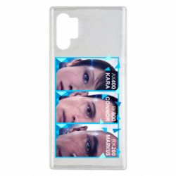 Чохол для Samsung Note 10 Plus The faces of androids game Detroit: Become human