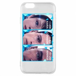 Чохол для iPhone 6/6S The faces of androids game Detroit: Become human