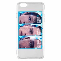 Чохол для iPhone 6 Plus/6S Plus The faces of androids game Detroit: Become human