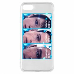 Чохол для iPhone 7 The faces of androids game Detroit: Become human