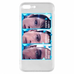 Чохол для iPhone 7 Plus The faces of androids game Detroit: Become human