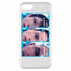 Чохол для iPhone 8 The faces of androids game Detroit: Become human
